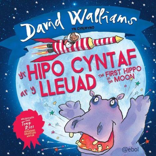Hipo Cyntaf ar y Lleuad, Yr / The First Hippo on the Moon (Paperback)