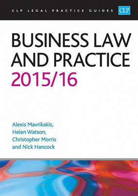 Business Law and Practice 2015/2016 - CLP Legal Practice Guides (Paperback)