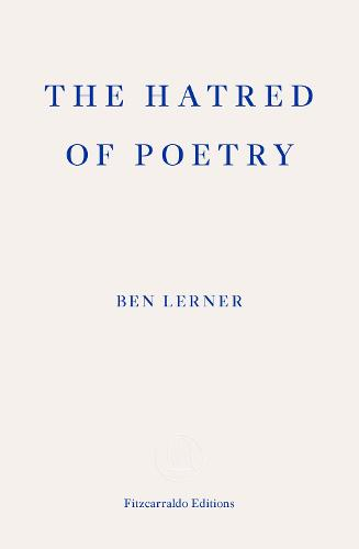 The Hatred of Poetry (Paperback)