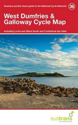 West Dumfries & Galloway Cycle Map 36: Including Lochs and Glens South and 3 Individual Day Rides (Paperback)