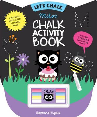 Let's Chalk: Milo's Chalk Activity Book - Let's Chalk (Board book)