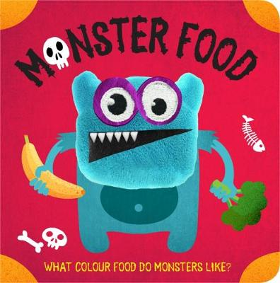 Monster Food Finger Puppet Book (Board book)