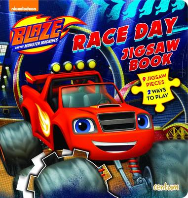 Blaze Race Day Jigsaw Book (Board book)