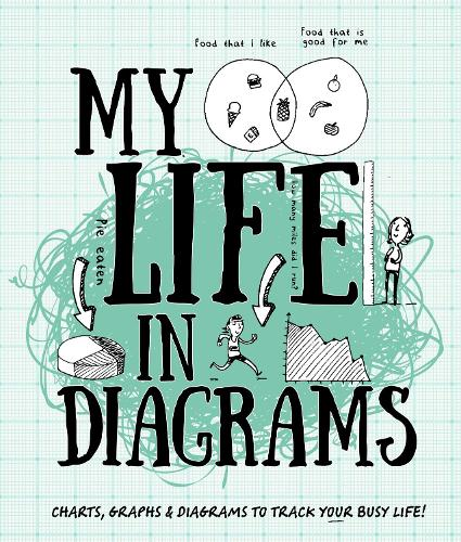 My Life in Diagrams: Charts, graphs & diagrams to track your busy life! (Paperback)