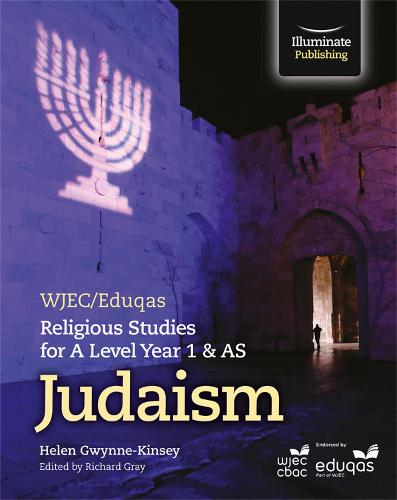 WJEC/Eduqas Religious Studies for A Level Year 1 & AS - Judaism (Paperback)