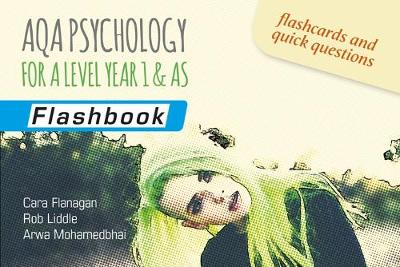 AQA Psychology for A Level Year 1 & AS: Flashbook (Paperback)