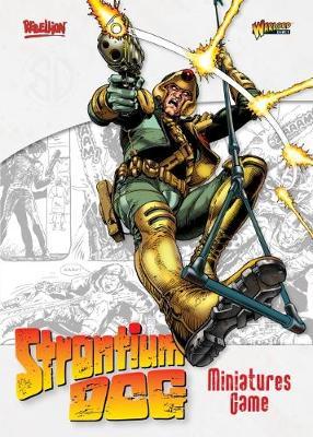 Strontium Dog: The Miniatures Game Rulebook (Paperback)