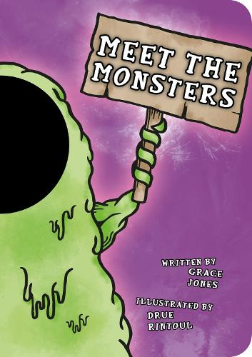 Meet the Monsters: Funny Faces (Board book)