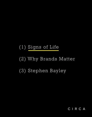 Signs of Life: Why Brands Matter (Hardback)