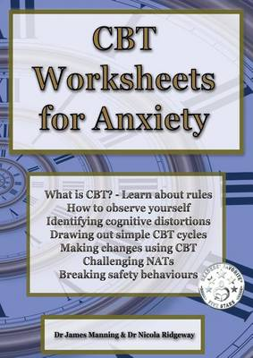 CBT Worksheets for Anxiety: A Simple CBT Workbook to Help You Record Your Progress When Using CBT to Reduce Symptoms of Anxiety. (Paperback)