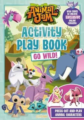 Animal Jam Activity Play Book Go Wild! (Paperback)