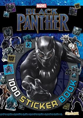 Black Panther - 1000 Sticker Book (Paperback)