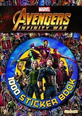Avengers Infinity War - 1000 Sticker Book (Paperback)