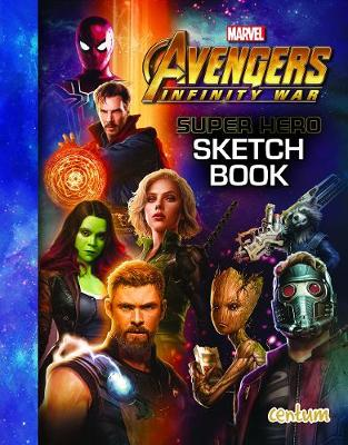 Avengers Infinity War - Superhero Sketch Book (Paperback)