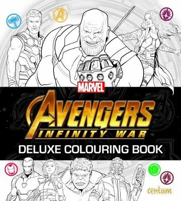Avengers Infinity War - Deluxe Colouring Book (Paperback)