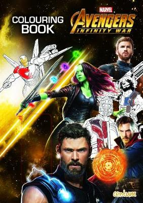 Avengers Infinity War - Colouring Book (Paperback)