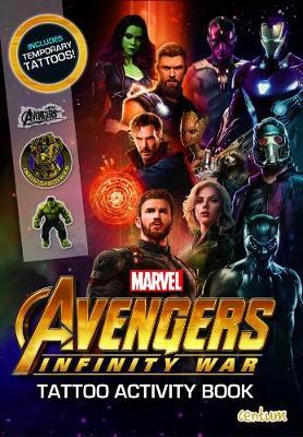 Avengers Infinity War - Tattoo Activity Book (Paperback)