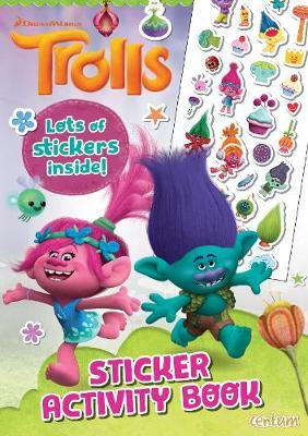Trolls - Sticker Activity Book (Paperback)