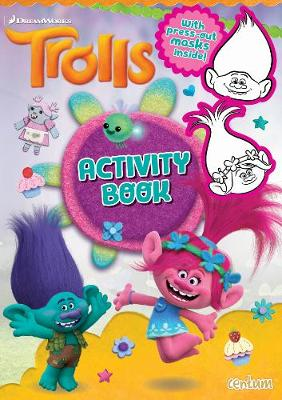 Trolls - Hair Play Activity Book (Paperback)