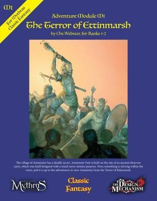 The Terror of Ettinmarsh: Classic Fantasy Adventure Module M1 (Paperback)