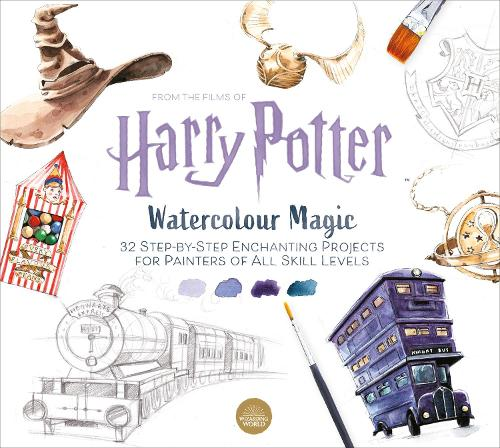 Harry Potter Watercolour Magic: 32 step-by-step enchanting projects (Paperback)
