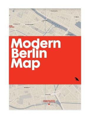 Modern Berlin Map: Guide to 20th century architecture in Berlin (Sheet map, folded)