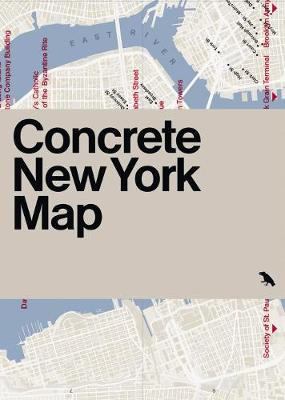 Concrete New York Map: Guide to Concrete and Brutalist Architecture in New York City