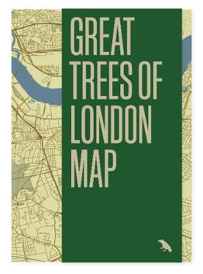 Great Trees of London Map (Sheet map, folded)