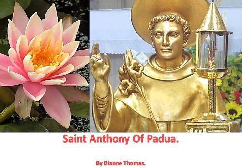 Saint Anthony Of Padua. (Paperback)