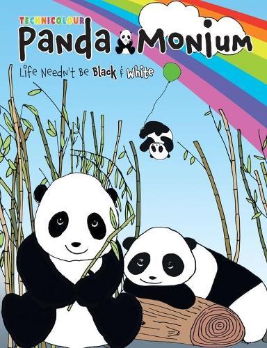 Technicolour Panda-Monium Colouring Book (Paperback)