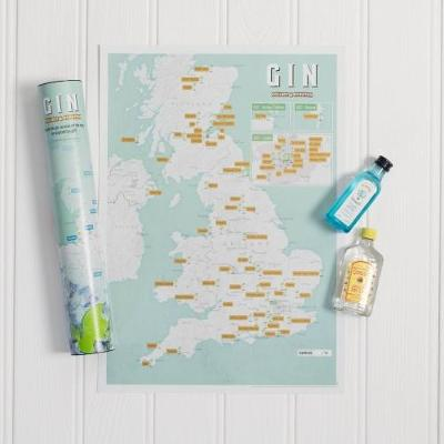 Gin Collect and Scratch Print (Wallchart)