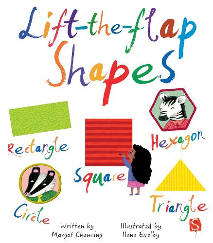Lift-The-Flaps Shapes - Lift-The-Flap (Board book)