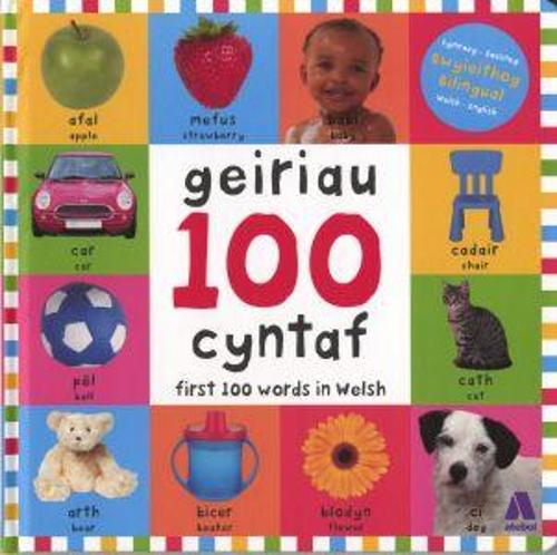 100 Geiriau Cyntaf/ First 100 Words in Welsh (Hardback)