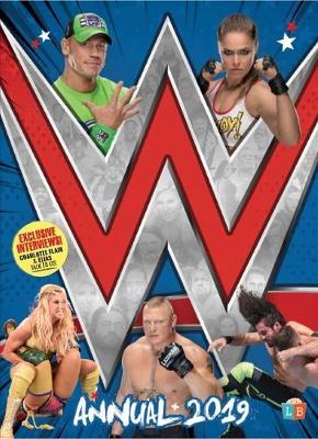 Official WWE Annual 2019 (Hardback)