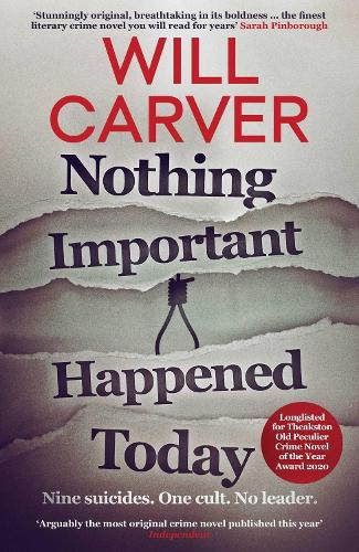 Nothing Important Happened Today (Paperback)