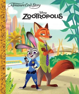 A Treasure Cove Story - Zootropolis (Hardback)