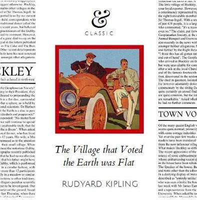 The Village that Voted the Earth was Flat (Paperback)
