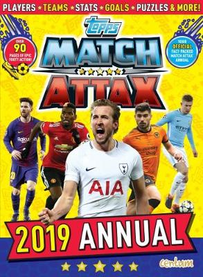 Match Attax Annual 2019 (Hardback)