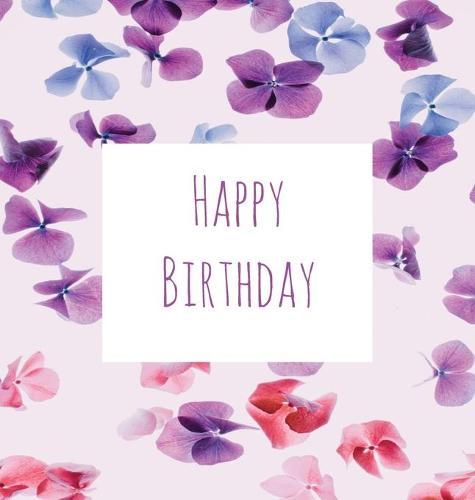 Birthday Party Guest Book Girl Happy Keepsake Gift