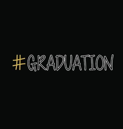 #graduation, Graduation Sign Book, Memory Keepsake Signing Book, Highschool, College, Congratulatory, Graduation Party Guest Book, School Leavers, Memories and Predictions, Teacher Sign Book (Hardback) (Hardback)