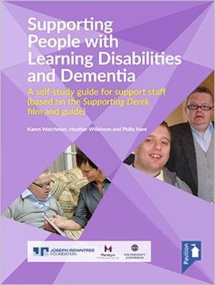 Supporting People with Learning Disabilities and Dementia Self-study Guide (Paperback)