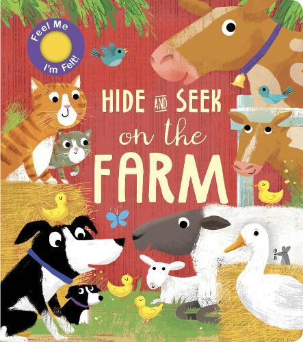 On the Farm - Hide and Seek (Board book)