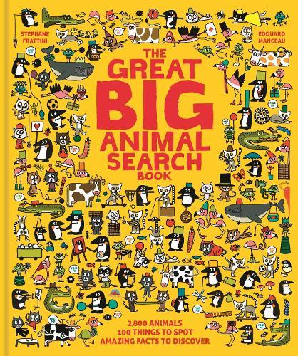 The Great Big Animal Search Book (Hardback)