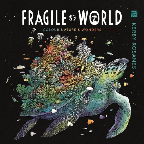 Fragile World: Colour Nature's Wonders (Paperback)