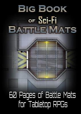 Big Book of Sci-Fi Battle Mats (Paperback)