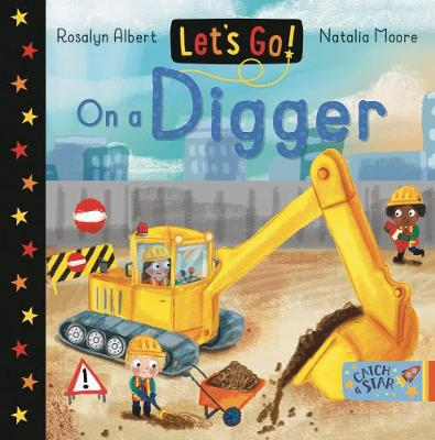 Let's Go! On a Digger - Let's Go! 5 (Board book)