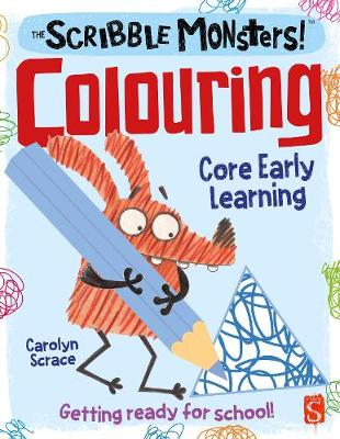 The Scribble Monsters Colouring Activity Book - The Scribble Monsters (Paperback)