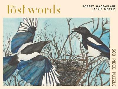 The Lost Words: (Magpie Jigsaw) - The Lost Words Jigsaws 3 (Jigsaw)