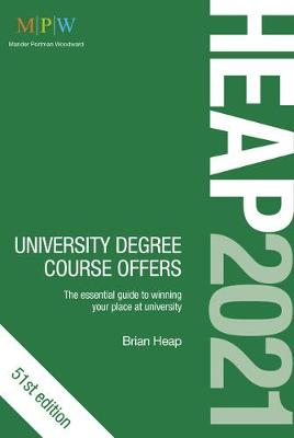 HEAP 2021: University Degree Course Offers (Paperback)