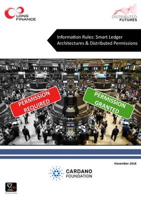 Information Rules: Smart Ledger Architectures & Distributed Permissions (Paperback)